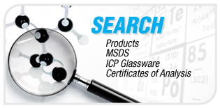 Search MSDS, products, certificates of Analysis, etc...